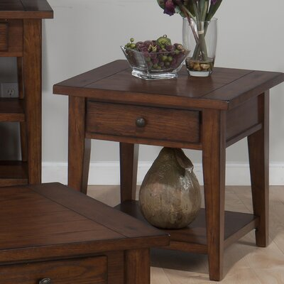 Clay County End Table by Jofran