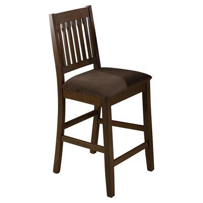 "Jofran Caleb 24"" Bar Stool with Cushion"