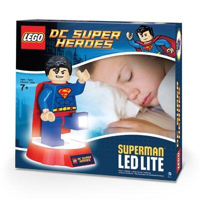 Lego DC Universe Super Hero Superman Torch and Night Light by Santoki
