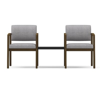 Lesro Lenox 2 Guest Chairs with Connecting Center Table