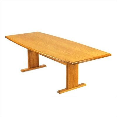 Lesro Contemporary Boat Shaped Conference Table