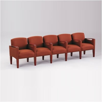 Lesro Brewster Five Seats with Center Arm