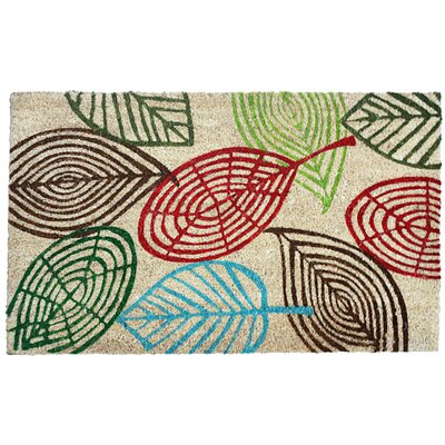 Leaves Doormat by J&M Home Fashions