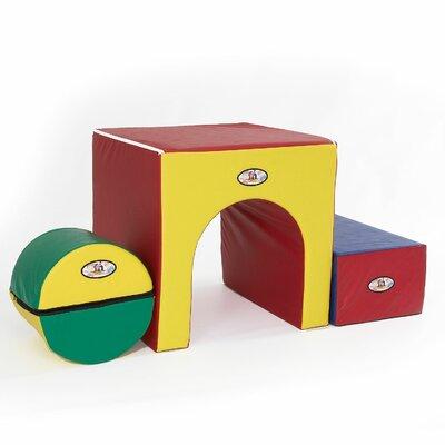 3 Piece Kids Tunnel of Fun by Foamnasium