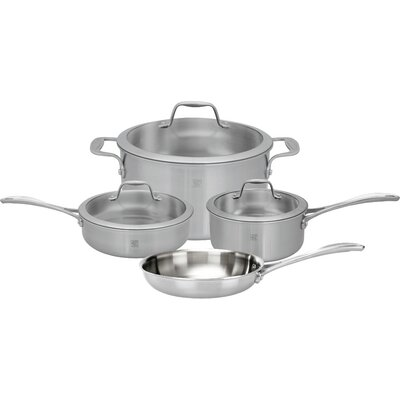 Spirit Tri-ply 7 Piece Stainless Steel Cookware Set by Zwilling JA Henckels