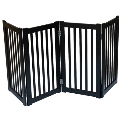 4 Panel Free Standing Pet Gate by MDOG2