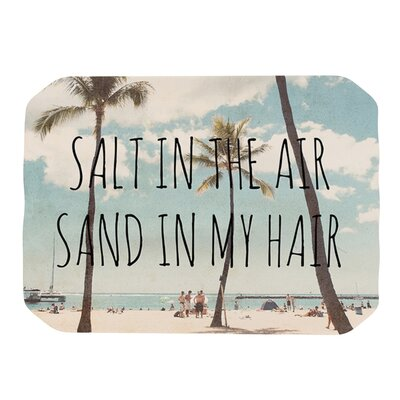 Salt in The Air Placemat by KESS InHouse