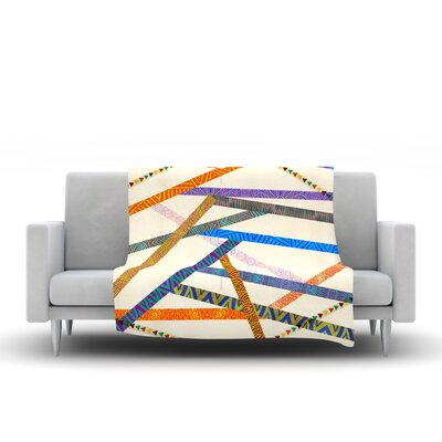 Unparalleled Throw Blanket by KESS InHouse