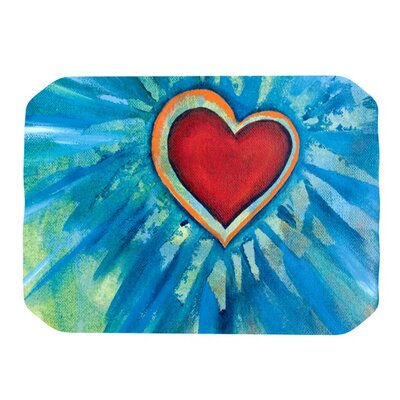 Love Shines On Placemat by KESS InHouse