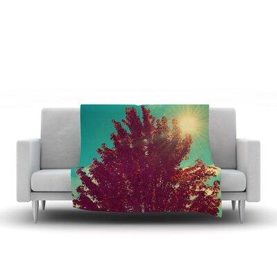 Change Is Beautiful Throw Blanket by KESS InHouse