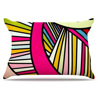KESS InHouse Fake Colors Pillowcase