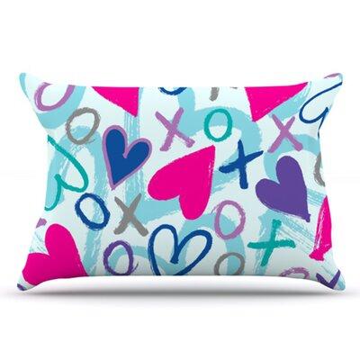 Hearts A Flutter Pillowcase by KESS InHouse