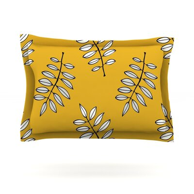 Pagoda Leaf by Laurie Baars Pillow Sham by KESS InHouse
