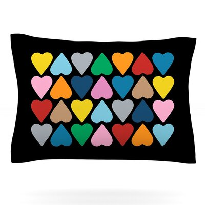 Up and Down Hearts by Project M Pillow Sham by KESS InHouse
