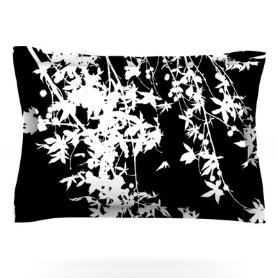 White on Black by Ingrid Beddoes Pillow Sham by KESS InHouse