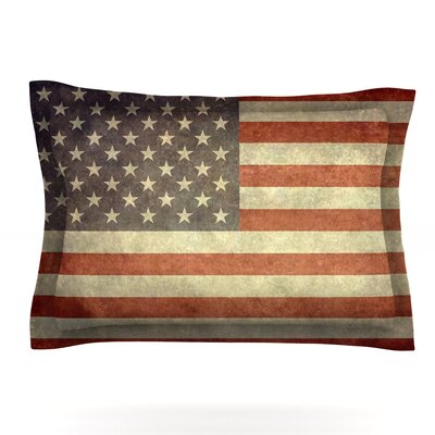Flag of US Retro by Bruce Stanfield Pillow Sham by KESS InHouse