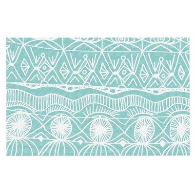 Beach Blanket Bingo Doormat by KESS InHouse