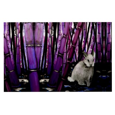 Bamboo Bunny Doormat by KESS InHouse