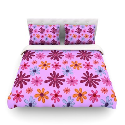 Woodland Floral by Jane Smith Duvet Cover by KESS InHouse