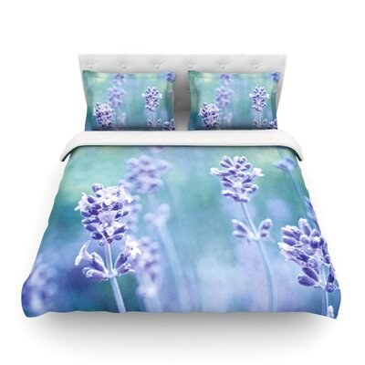 Lavender Dream by Iris Lehnhardt Light Duvet Cover by KESS InHouse