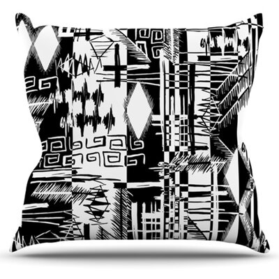 Tropical Buzz by Gabriela Fuente Throw Pillow by KESS InHouse