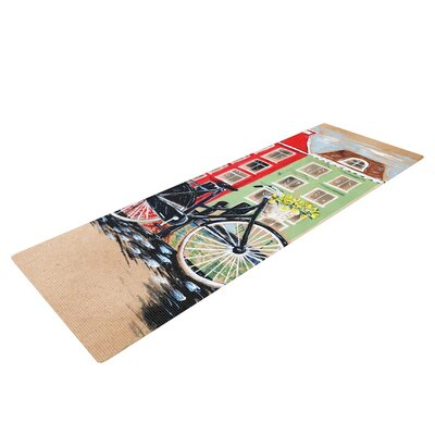 Bicycle by Christen Treat Yoga Mat by KESS InHouse