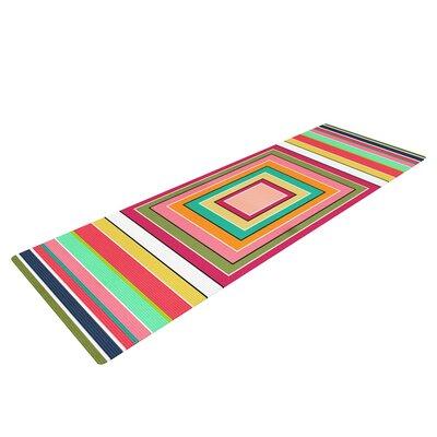 Floor Pattern by Danny Ivan Yoga Mat by KESS InHouse