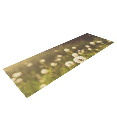 As You Wish by Libertad Leal Dandelions Yoga Mat by KESS InHouse