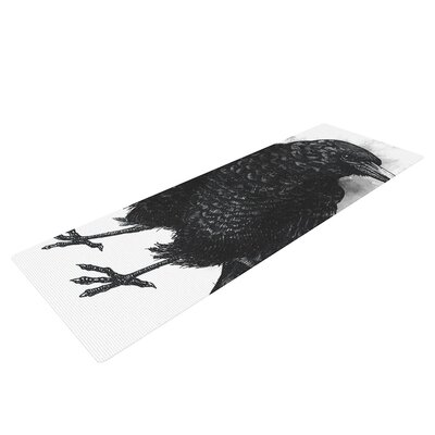 Crow by Sophy Tuttle Yoga Mat by KESS InHouse