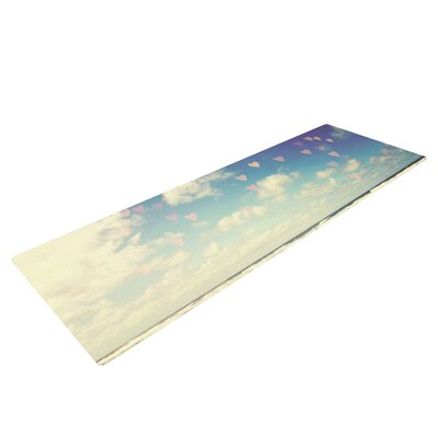Adventure is Out There by Sylvia Cook Yoga Mat by KESS InHouse
