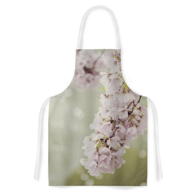 Cherry Blossom by Catherine McDonald Artistic Apron by KESS InHouse
