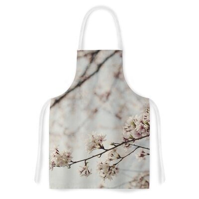 Japanese Cherry Blossom by Catherine McDonald Artistic Apron by KESS InHouse