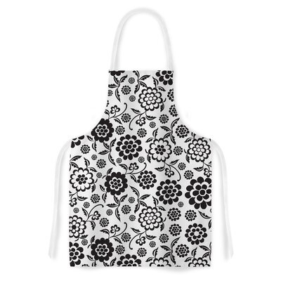 Cherry Floral by Nicole Ketchum Artistic Apron by KESS InHouse