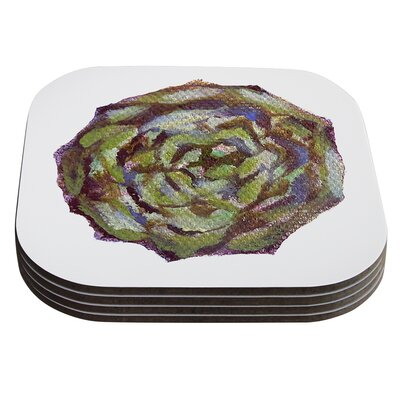 Artichoke Coaster by KESS InHouse