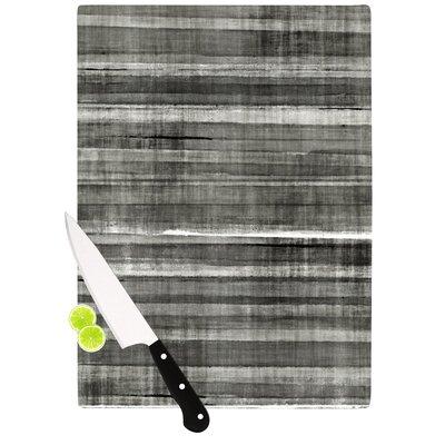 Grey Accent by CarolLynn Tice Cutting Board by KESS InHouse
