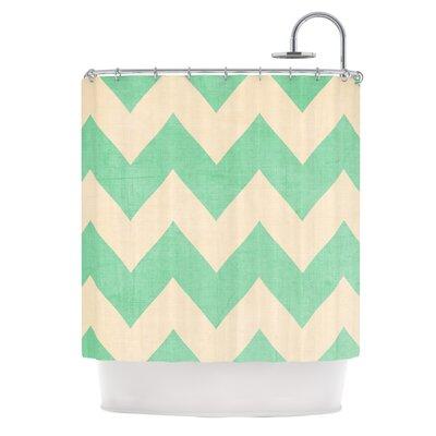 KESS InHouse Malibu Shower Curtain
