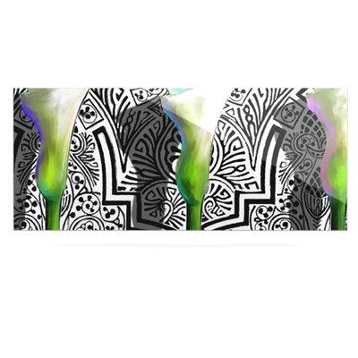 KESS InHouse Three Lily by S. Seema Z Graphic Art Plaque