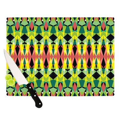KESS InHouse Triangle Visions Cutting Board
