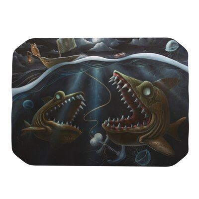 Sink or Swim Placemat by KESS InHouse
