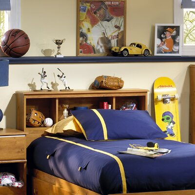 South Shore Amesbury Twin Bookcase Headboard 3432 098