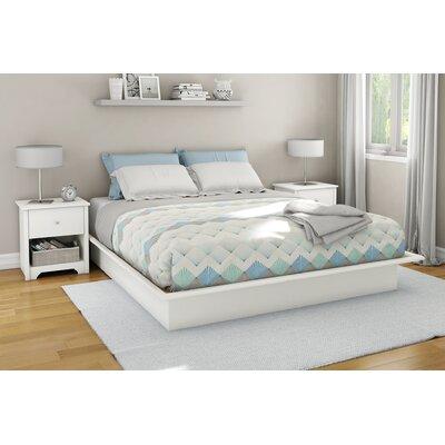 South Shore Newbury Platform Customizable Bedroom Set