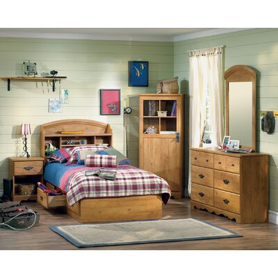 South Shore Roslindale Twin Storage Captain Customizable Bedroom Set
