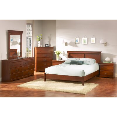 Vintage Queen Panel Customizable Bedroom Set by South Shore