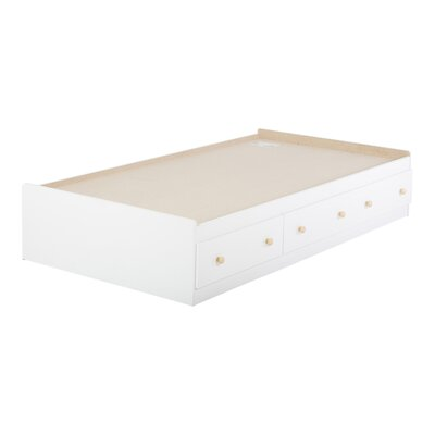 South Shore Newbury Twin Mate Bed Box with Storage