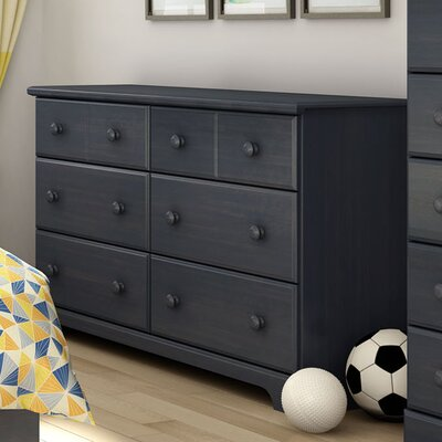 South Shore Provincetown 6 Drawer Double Dresser
