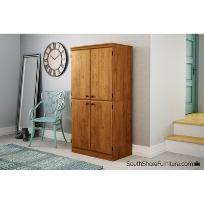 South Shore Morgan 4 Door Storage Cabinet