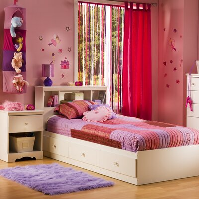 South Shore Crystal Twin Storage Mate's Customizable Bedroom Set Bedroom Collection