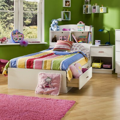 South Shore Logik Twin Storage Mate's Customizable Bedroom Set Bedroom Collection