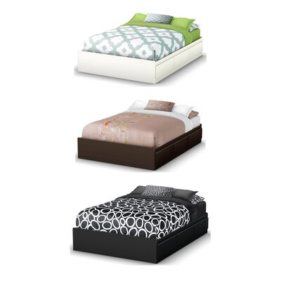 South Shore Full Platform Bed with Underbed Storage