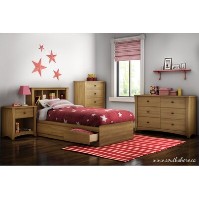 South Shore Jumper Twin Storage Panel Customizable Bedroom Set Collection 3326098